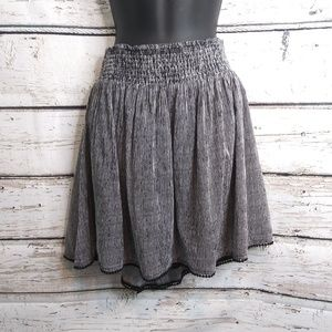 Old Navy/ Black and White Skirt/ Large